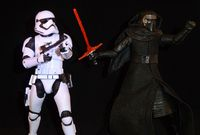 Star Wars The Black Series: Kylo Ren & First Order Stormtrooper - Complete Loose Action Figures